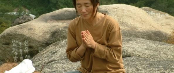 Meditation in Seoul