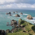 Rocks in water, NZ