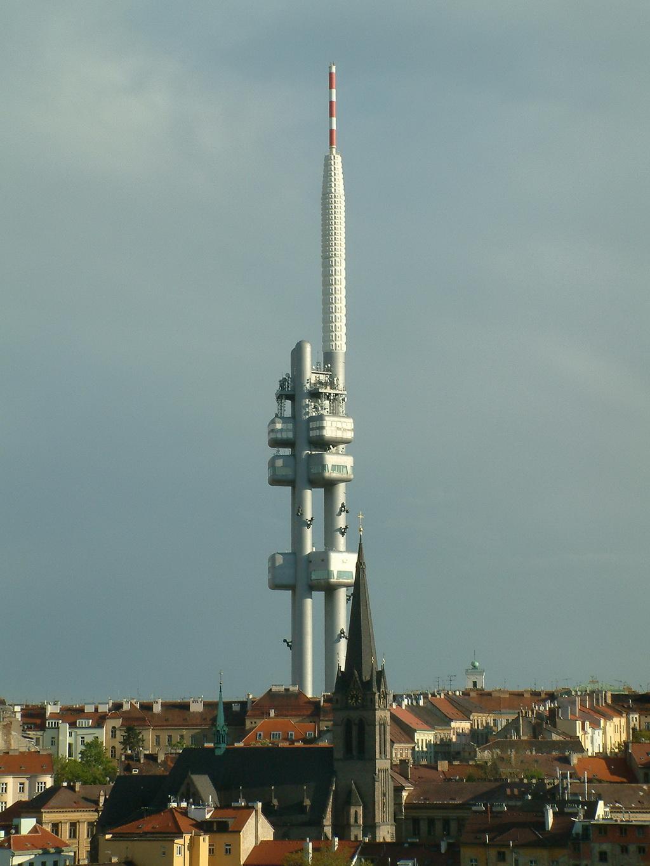 Zizkov Tv Tower Travel In Public