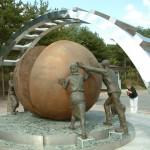 Reunification monument, Panmunjom, South Korea